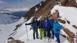Statt Hugo in Pforzheim nochmal Skitour im Rojental...