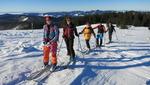Skitouren am Feldberg bei viel Sonne und guten Schneeverhältnissen...